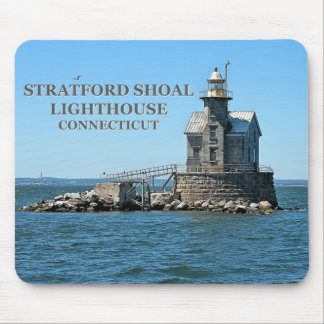 Stratford Shoal Lighthouse, Connecticut Mousepad