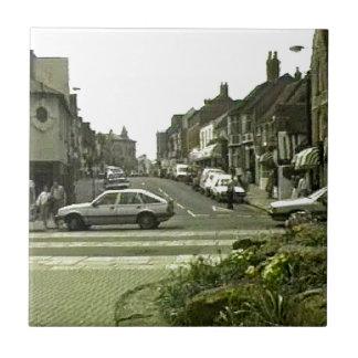 Stratford-upon-Avon England 1986 Street jGibney Small Square Tile