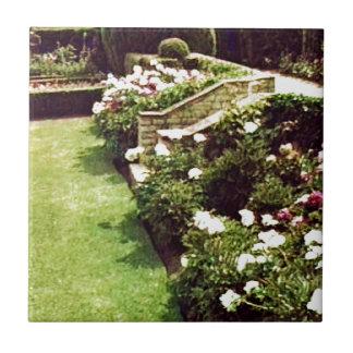 Stratford-upon-Avon England Garden snap-29087 jGib Small Square Tile