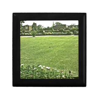 Stratford-upon-Avon England On-The-Green jGibney Small Square Gift Box