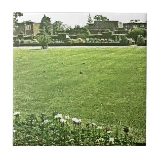 Stratford-upon-Avon England On-The-Green jGibney Small Square Tile