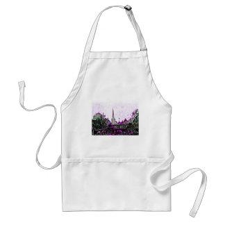 Stratford-upon-Avon England Purple Garden jGibney Adult Apron