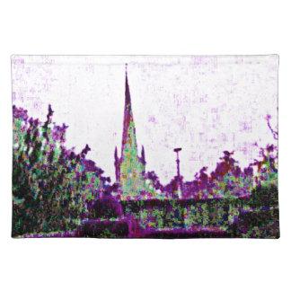 Stratford-upon-Avon England Purple Garden jGibney Place Mat