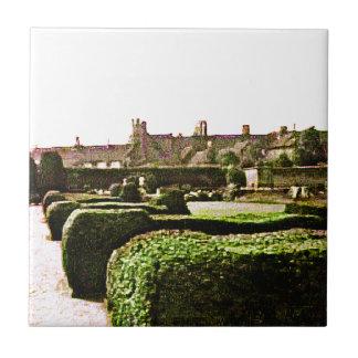 Stratford-upon-Avon Garden snap-28575 jGibney Small Square Tile