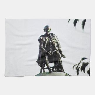 Stratford-upon-Avon Shakespeare Statue jGibney Kitchen Towels