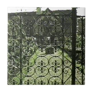 Stratford-upon-Avon Shakespeare's Birthplace jGibn Small Square Tile