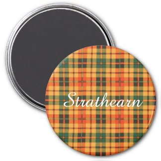 Strathearn clan Plaid Scottish tartan Magnet
