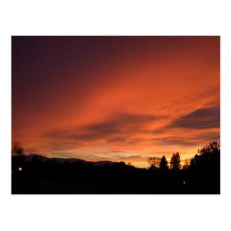 Strathspey Sunset Postcard