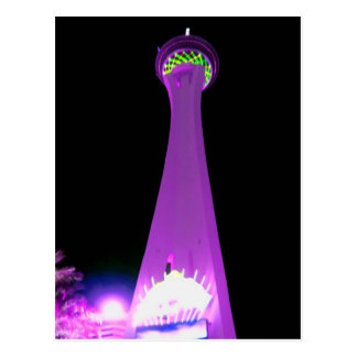 Stratosphere in Purple Postcard
