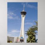 Stratosphere Las Vegas Tower Poster Print