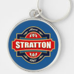 Stratton Old Label Key Chain