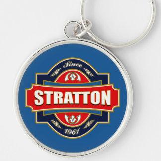 Stratton Old Label Key Ring