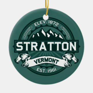 "Stratton ""Vermont Green"" Christmas Ornament"