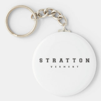 Stratton Vermont Key Ring