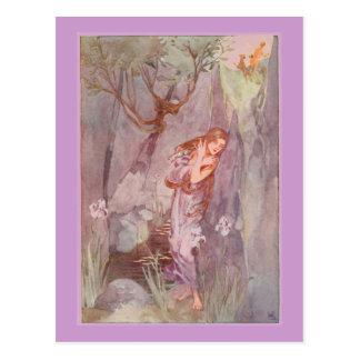 Stratton's Echo & Narcissus Postcard