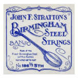 Strattons Strings Poster