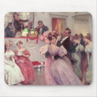 Strauss and Lanner - The Ball, 1906 Mouse Mat