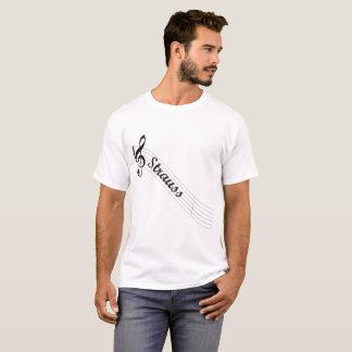 Strauss Classical Music Treble T-Shirt