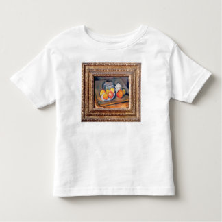 Straw-covered vase, sugar bowl and apples toddler T-Shirt