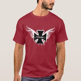 Straw: Logo Maroon T-Shirt