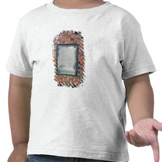 Straw-work mirror frame, 1670-80 shirts
