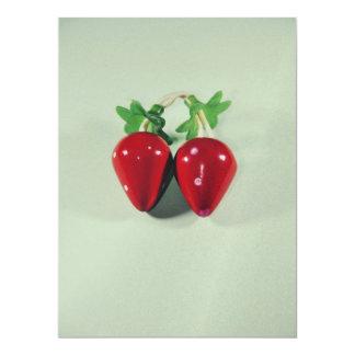 Strawberries 17 Cm X 22 Cm Invitation Card
