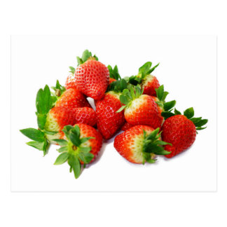 Strawberries 3 postcard
