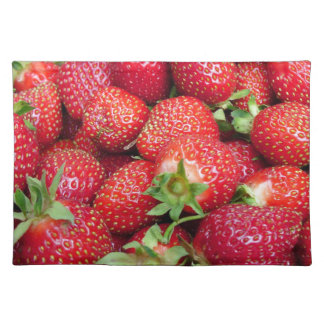 Strawberries 9 placemat