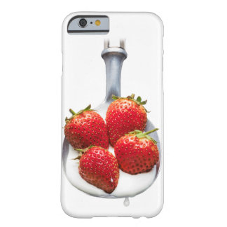 Strawberries and Cream Barely There iPhone 6 Case