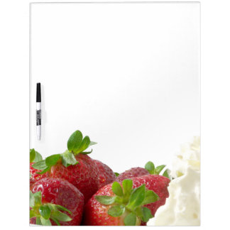 Strawberries and Cream Board Dry Erase Boards
