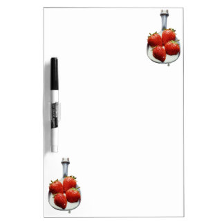 Strawberries and Cream Dry Erase Board