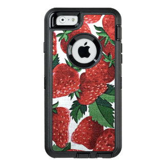 Strawberries and Cream OtterBox Defender iPhone Case