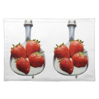 Strawberries and Cream Placemat