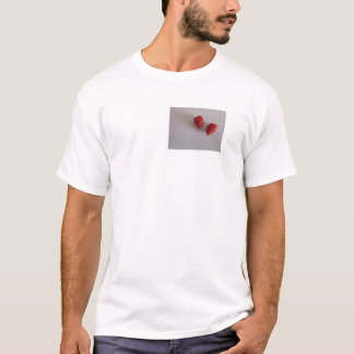 Strawberries as heart T-Shirt