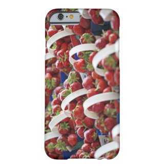 Strawberries at a market stall barely there iPhone 6 case
