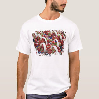 Strawberries at a market stall T-Shirt