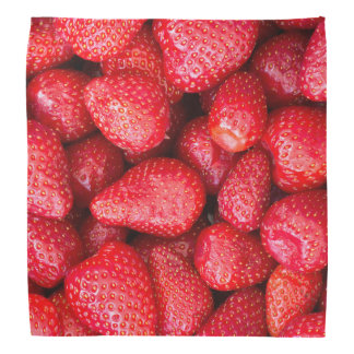 Strawberries background kerchiefs