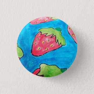 Strawberries - Badge