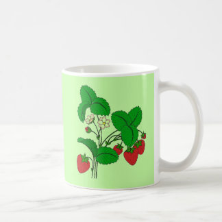 Strawberries for Breakfast Coffee Mug