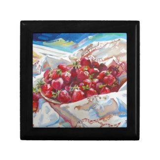 Strawberries Gift Box