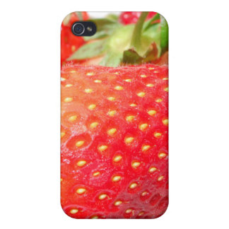Strawberries in a Bowl iPhone 4 Cases