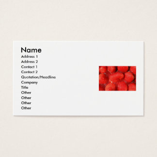 Strawberries in Jelly Business Card