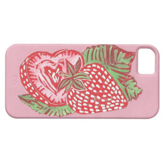 Strawberries iPhone 5/5s Case