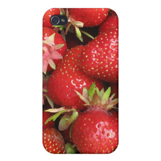 Strawberries iPhone 4 Cover