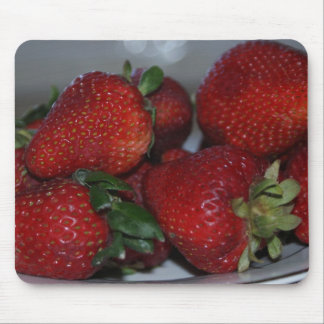 strawberries mouse mat