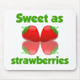 Strawberries mousepad