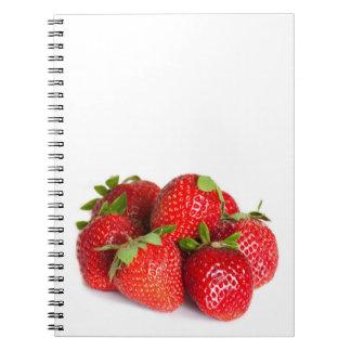 Strawberries Notebooks