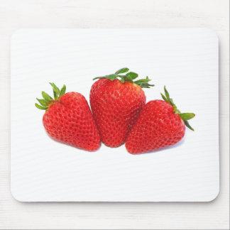 Strawberries on mousepad