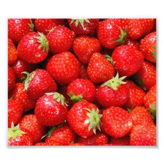 Strawberries Photo Art