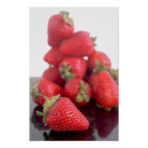 Strawberries Photo Posters